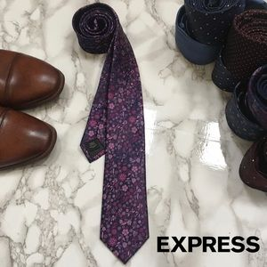 3 for $25 - NWT Express Silk Floral Tie